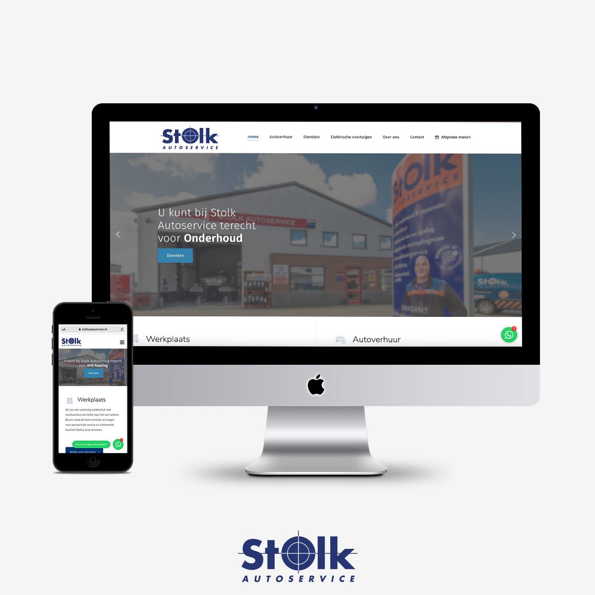 AC Stolk nieuwe website